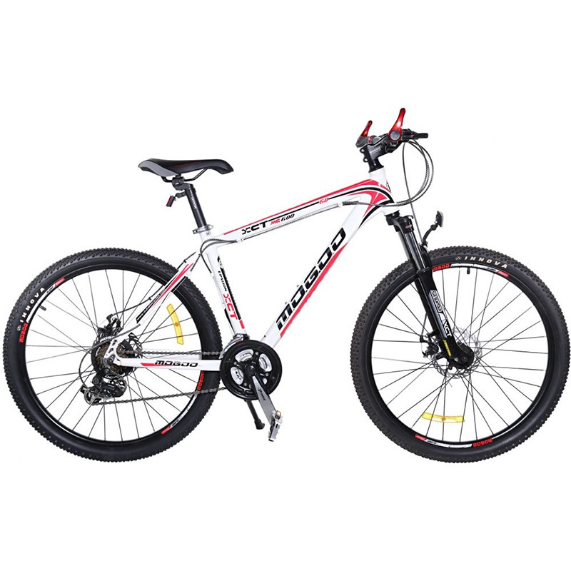 Mogoo Epsilon Alloy Bike, 26 Inch, White