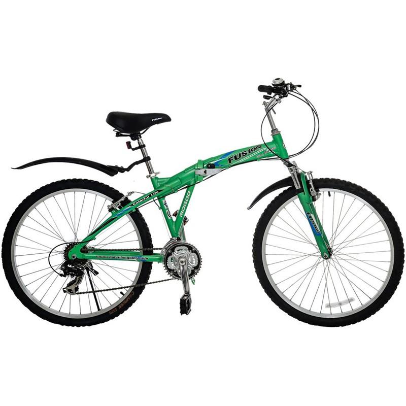 Mogoo Fusion Folded Bike, Green