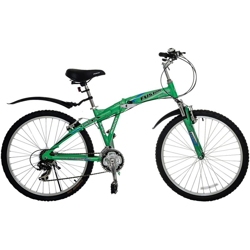 Mogoo Fusion Folded Bike, Green