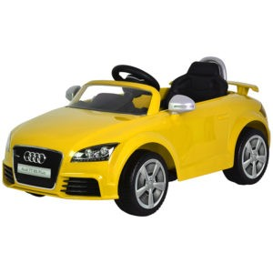 Yellow Kids Car