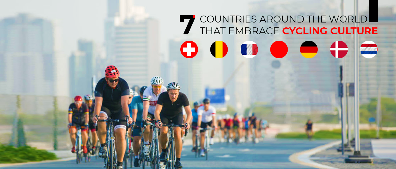 7 countries around the world that embrace cycling culture
